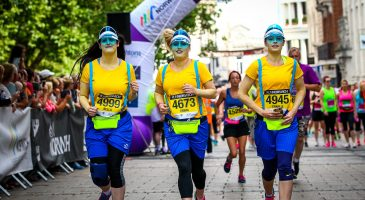 Minions at Run Norwich 2016