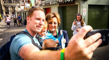 Selfie at Run Norwich 2016 with Delia Smith