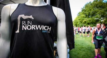 Official merchandise at Chapelfield Gardens