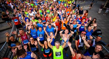 Runners at the star of Run Norwich 2016