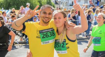 Thousands raised at third Run Norwich