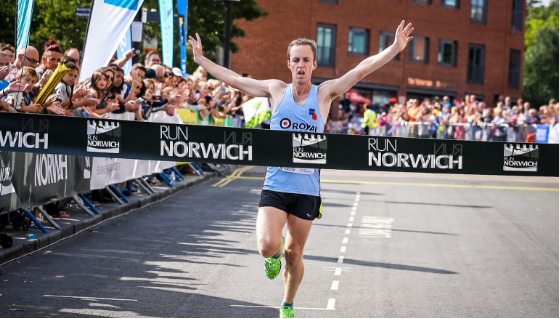 Enter Run Norwich 2018 for CSF