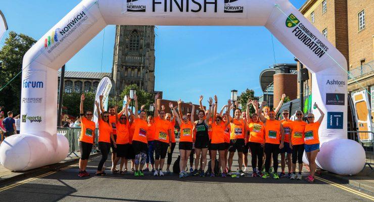 RLC at Run Norwich 2017 startline