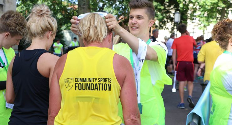 Run Norwich charity runners csf