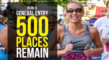 Just 500 general entry places remain for race
