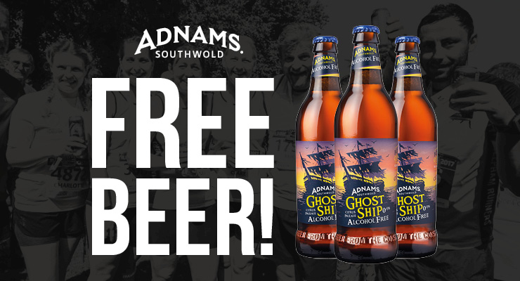 Free beer for #RN18 runners