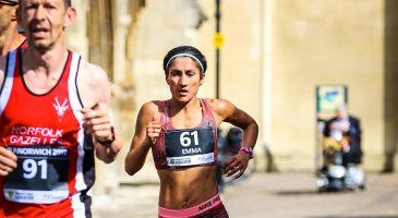 Risbey running Run Norwich 2017