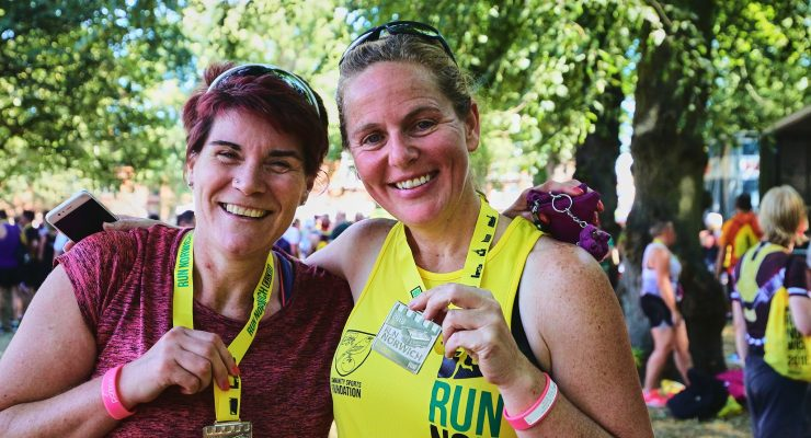 Personalise your medal with your name and race time
