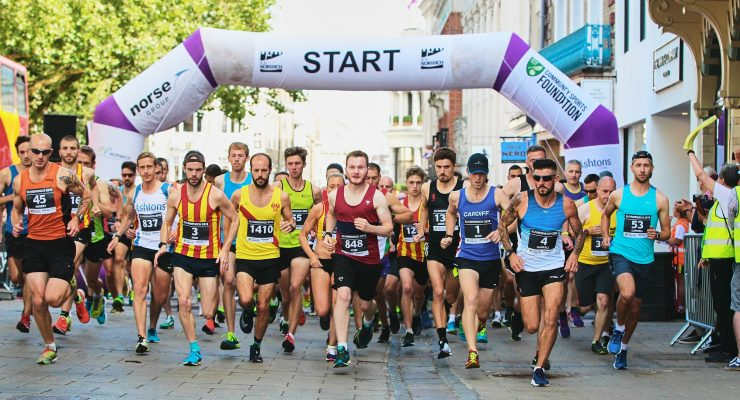 Start Line Run Norwich 2018