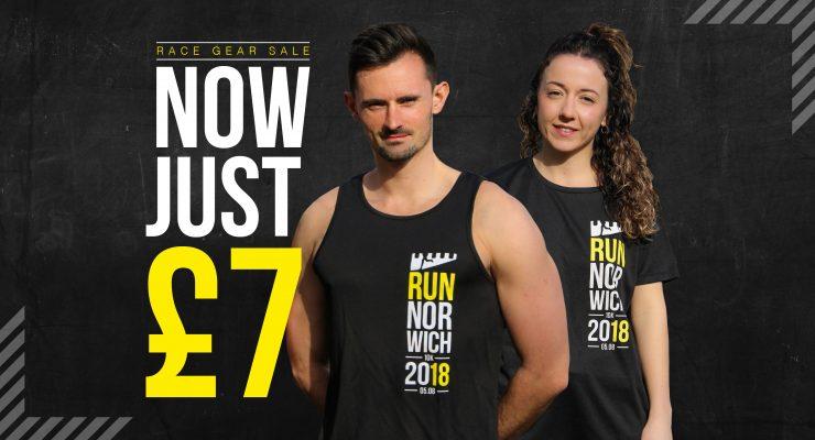 Prices slashed on Run Norwich merchandise