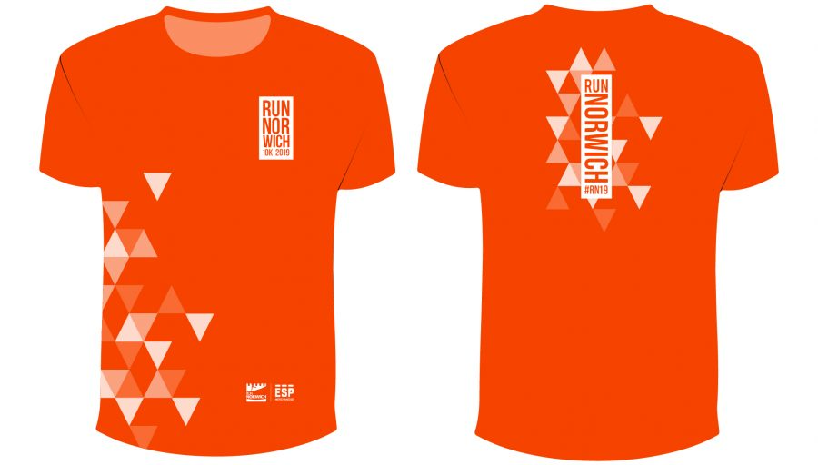 Race T-shirt - Orange