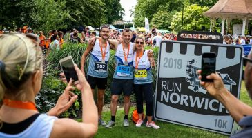 Survey results from Run Norwich 2019