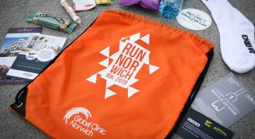 Finishers' goody bag contents revealed…