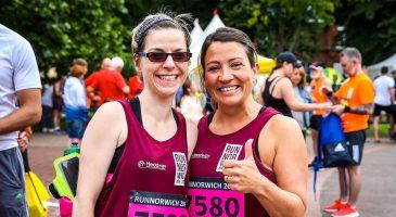 Headway Norfolk & Waveney Run Norwich 2019 runner