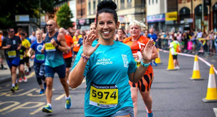 Nancy Oldfield trust runner Run Norwich 2019