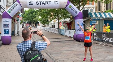 New start location for Run Norwich 2020