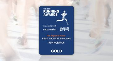 Run Norwich voted as Best 10k in East of England
