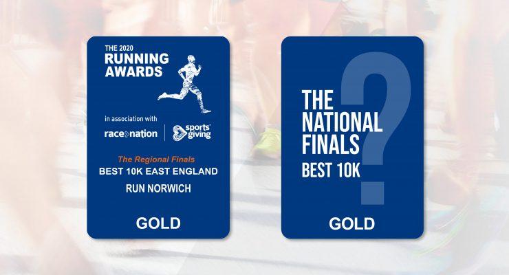 Run Norwich in final shortlist for Best 10k in the United Kingdom